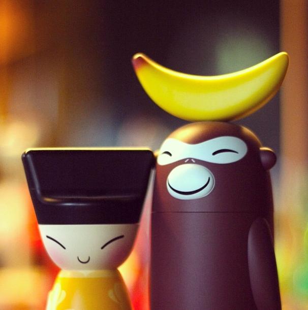 catch quality design utterly stylish Officio Mondó: Banana Family, colección por Stefano ...